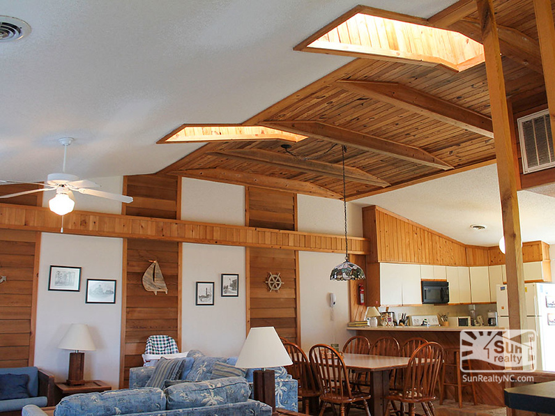 Skylights in Living Area