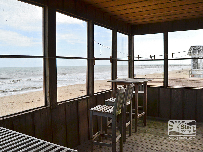 Screened-In Porch with Panoramic Ocean Views