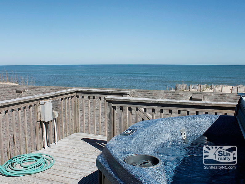 Ocean Views from Private Hot Tub