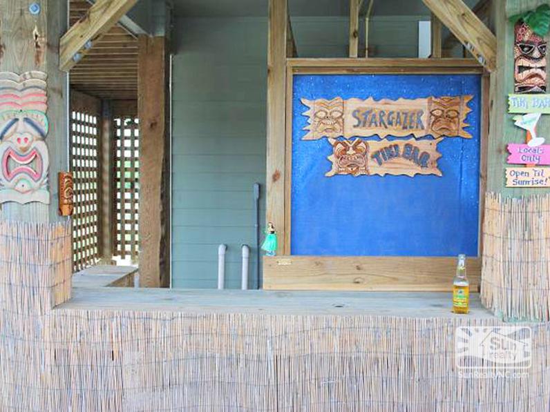 Tiki Bar by Pool