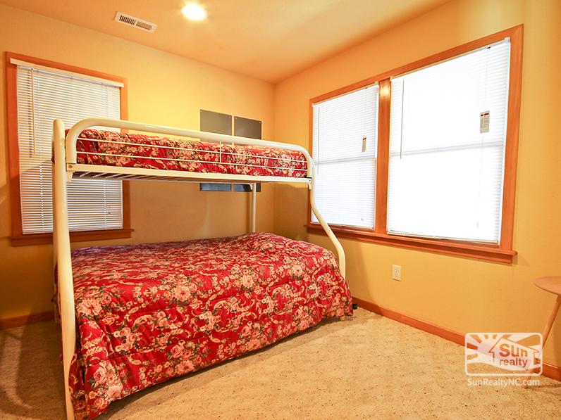Ground-Level Bunk Bedroom