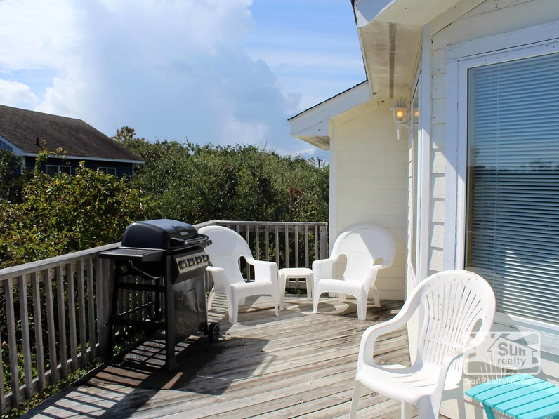 Deck Seating and Grill