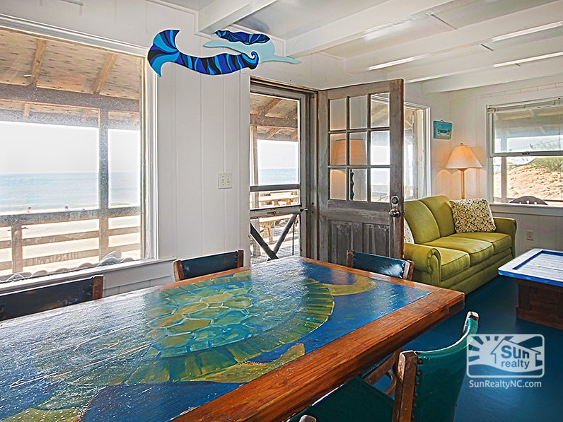 Ocean Views from Living and Dining Areas