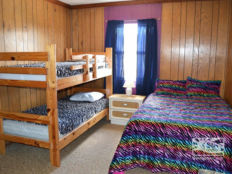 Bunk and Full Bedroom