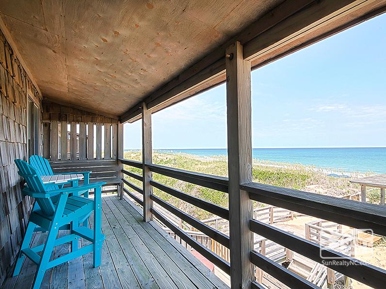 Top-Level Oceanfront Deck
