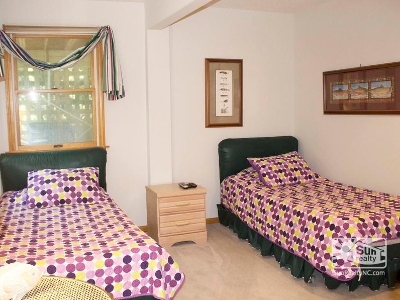 Ground-Level Twin Master Bedroom