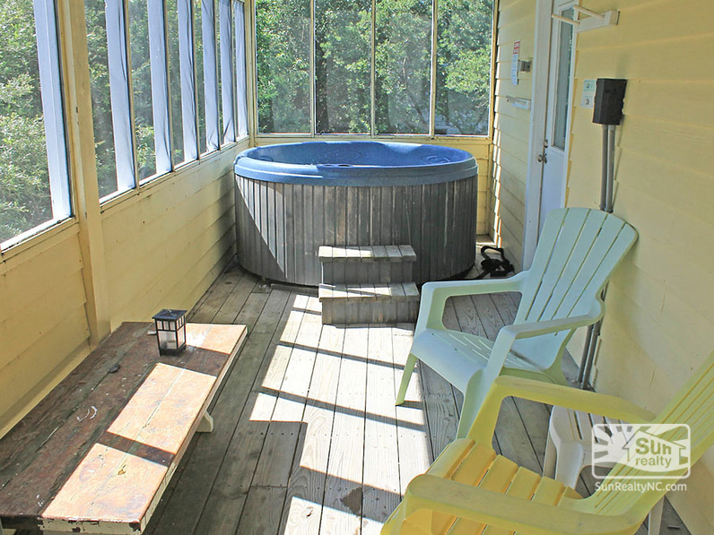 Deck Seating w/ Private Hot Tub