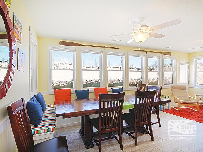 Dining Area in Sun Room