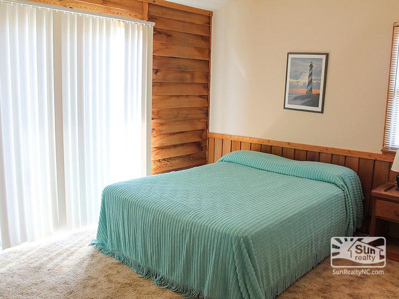 Queen Bedroom with Deck Access