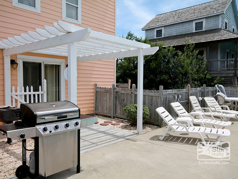 Private Gas and Charcoal Grills