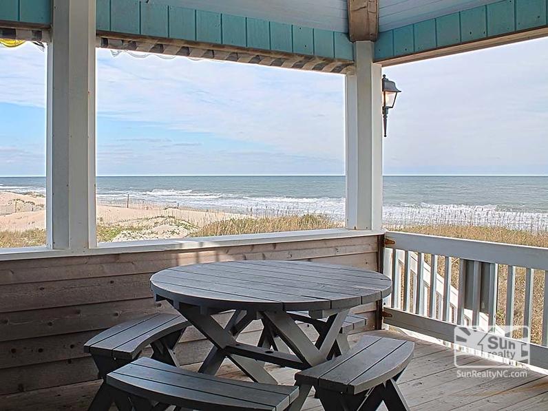 First-Level Deck w/ Ocean Views