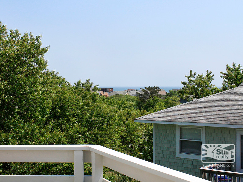 Ocean Views from Top-Level Deck