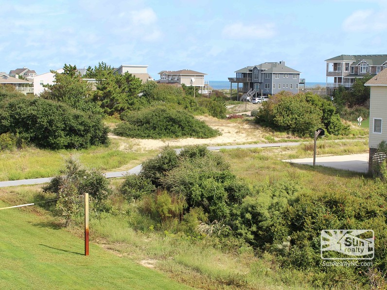 View of Beach Access from Home