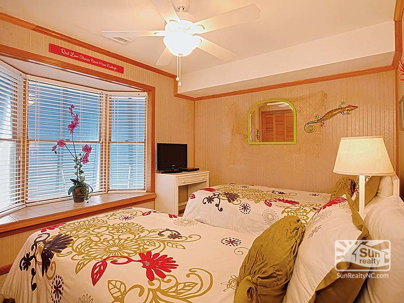 Second-Level Twin Bedroom