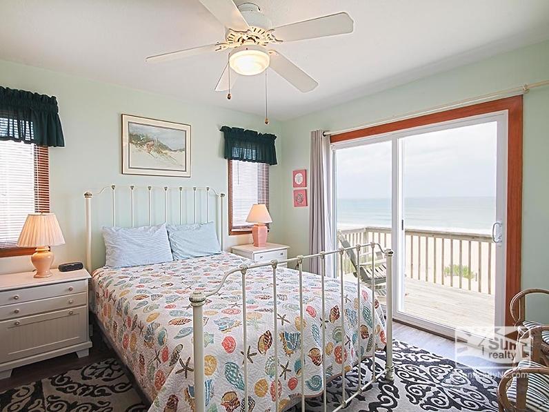 Top-Level Queen Bedroom w/ Ocean Views