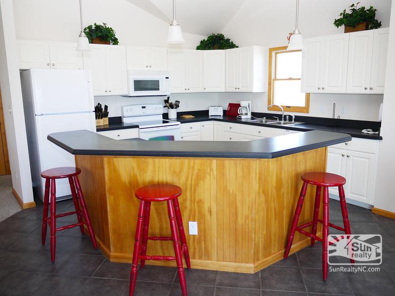 Bar Seating in Kitchen