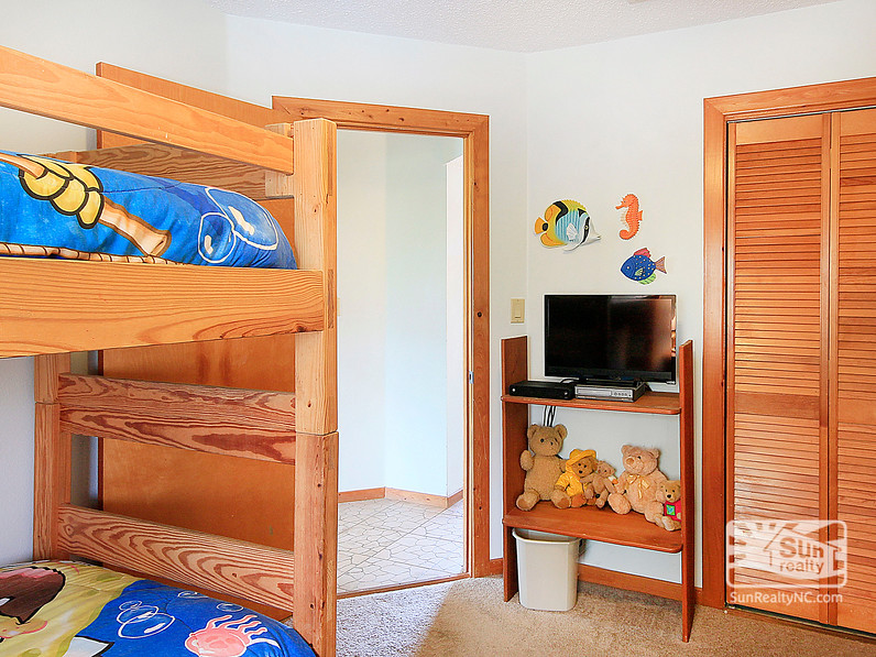 Twin and Bunk Bedroom